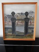 Painting Northern Style Christabel Dangerfield 1967 Lowry Post Contemporary