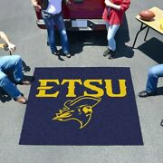 Ncaa - East Tennessee State Tailgater Rug 5and039x6and039