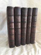 Bewickand039s Works 5 Vols. Complete 1st Edition Set From 1804 Very Good Condition