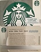 2018 Starbucks Mermaid Silver Sparkle Gift Card 6154 Mint No Value