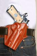Leather Owb Pancake Holster Open Top Fits Browning B.h.p-hi Power 4.7bbl 1082