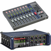Zoom F8n Multitrack Field Recorder W/zoom Frc-8 F-control Mixing Control Surface