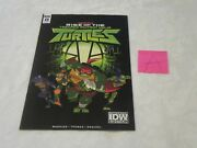 Idw Sdcc 2018 Exclusive Issue 0 Tmnt Rise Of The Teenage Mutant Ninja Turtles A