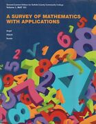 A Survey Of Mathematics With Applications 2nd Custom Ed Suffolk County Community