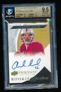 Bgs 9.5 Andrew Luck 2012 Exquisite Collection Gold Rc Auto /99 Indianapolis Colt