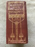 Mrs. Beeton's Book Of Household Management New Edition Ca. 1907-1912 British
