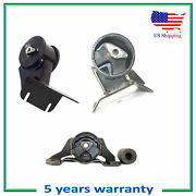 Engine Motor And Trans Mount 3pcs Set For 1993 Jeep Grand Cherokee 4.0l Automatic