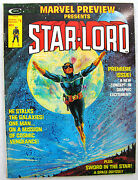 Marvel Preview 4 1st Star-lord Guardians Of The Galaxy Very Nice Big Pics Key