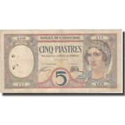 [574638] Banknote, French Indo-china, 5 Piastres, Undated 1926, Km49b