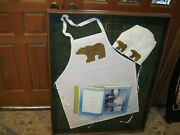 Jack Nicklaus Autographed Apron And Hat Photo Matched Frame Rare Game Worn Used