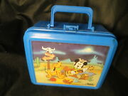 Aladdin Plastic Micky Mouse And Pluto Lunch Box