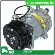 Ac Compressor Fits Ford New Holland Bale Wagon, Ts, Windrower Qu