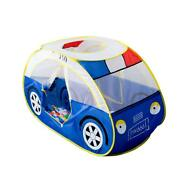 Anyshock Large Police Car Tents, Waterproof Indoor And Outdoor Cute Car Play Hou