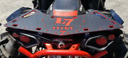 Can-am Renegade 2 Tone Powdercoated Rear Rack - Red 500 570 800 850 1000 2012+