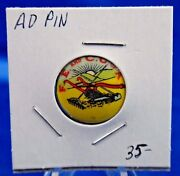 F. E. And C. O. Of A. Advertising Pin Pinback Button 7/8