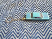1964 Lincoln Continental Diecast Model Toy Car Keychain Unrestored Light Blue