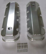 Big Block Chevy Bbc 396 427 454 502 Fabricated Aluminum Valve Covers Tall Bolts