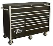 Extreme Tools Rx552512rcbk Rx Series 55 12-drawer Roller Cabinet - Black
