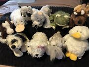 Lot Of 10 Webkins Ganz Stuffed Animals - Most With Code Tags