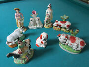 Staffordshire Figurines Sculptures Individually Sold 125 Ea