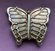 5oz Yps Butterfly 999+ Fine Silver Bullion Bar Yeager's Poured Silver