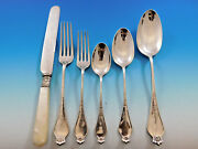 Corona By Dominick And Haff Sterling Silver Flatware Set Service 36 Pieces Dinner
