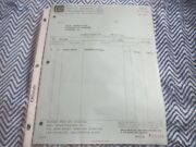 1966 Shelby Invoice To Yates Stevens Ford Kirkwood Missouri Dated 8-15-66