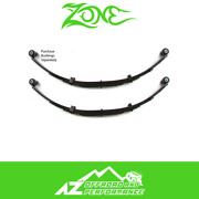 Zone Offroad 4 Front Or Rear Leaf Springs Pair For 87-95 Jeep Wrangler Yj J0400