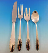Lyric By Gorham Sterling Silver Flatware Service For 6 Set 24 Pieces