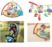 Fisher-price Luv U Zoo Deluxe Musical Mobile Gym Brand New