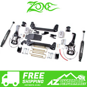 Zone Offroad 4 Suspension System Lift Kit For 2004-2008 Ford F150 4wd F8n