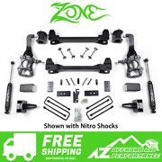 Zone Offroad 6 Suspension System Lift Kit For 2014 Ford F150 2wd Truck F43n