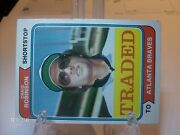 1974 Topps Traded Baseball Card Singles You Pick Cards
