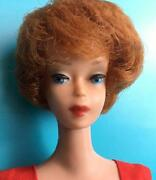 Vintage Barbie Doll Red Head Super Rare Bubble Cut Collectible From Japan F/s