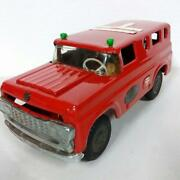 Marusan Bulldog Ford Mailcar Mail Truck 1950s Vintage Tin Toy Friction Rare F/s