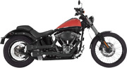 Vance And Hines Black Pearl Tips Hi Output Grenades Exhaust System Harley Softail