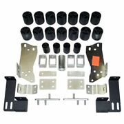 Performance Accessories Pa10053 3 Body Lift Kit For 1999-2002 Gmc Sierra 2wd