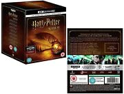 Harry Potter 1-8 2001-2011 Complete 7 Stories/8 Movies 4k Ultra Hdr R0 Blu-ray