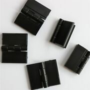 5x Black Acrylic Hinges 32mm X 38mm Black Hinges Continuous Acrylic Piano Hinge
