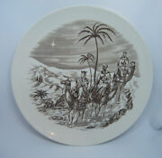 Rare Vintage Spode England And039and039where Is He That Is Bornand039and039 10 Christmas Plate