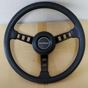Datsun Car Handle Horn Pad Pr-owned Very Rare 30 Years Old From Japan F/s