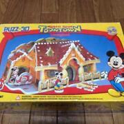 Disney Toon Town 3d Puzzle Very Rare New Puzz-3d Mickeyand039s House From Japan F/s