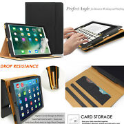 Military Drop Tested New Ipad 2017 9.7/ Pro 10.5 Case Cover + Card Slot Holder