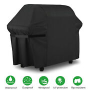 Best Bbq Gas Grill Cover, 60 Inch Waterproof Heavy Duty Cover With Secure Strap