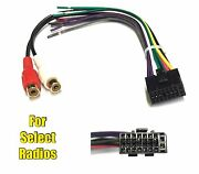 Car Stereo Radio Replacement Wire Harness Plug For Dual 16 Pin Radios Xdmr6850
