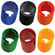 3/5/10 Pack Turbo Bowling Switch Grip Outer Sleeve 1 1/2 Od Black/colors