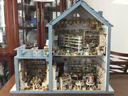 Hand Made Vintage Big Doll House Bear Shop / Cake Shop / Variety Goods Shop F/s