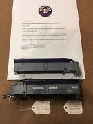 Lionel Archives Ho Scale 3003 Railscope Unlettered And Final Prototypes W/ Coa