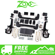 Zone Offroad 6 Suspension System Lift Kit For 2006-2008 Dodge Ram 1500 4wd D4