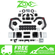 Zone Offroad 4 Combo 2.5 Lift Kit 1.5 Body Lift For 06-08 Dodge Ram 1500 4wd